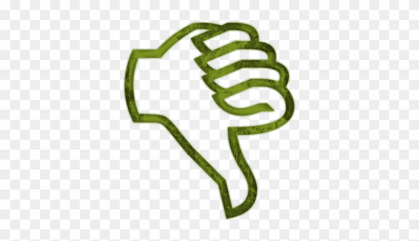 No - Thumbs Up Symbol #133753