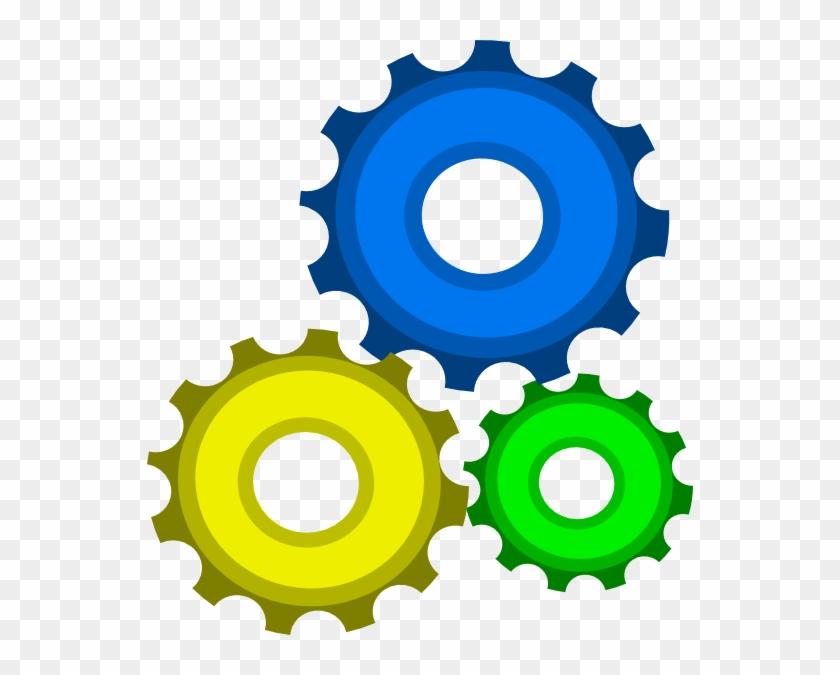 Clipart Gears - Gears Clipart #133855