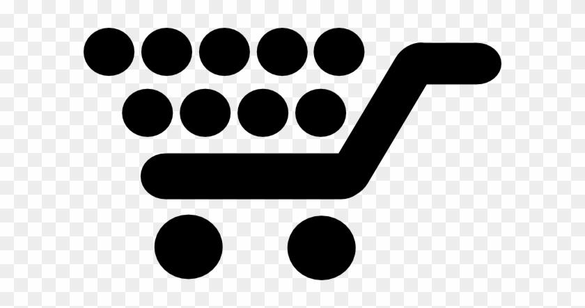 Shopping Cart Clip Art - Grocery Vector Png #133901