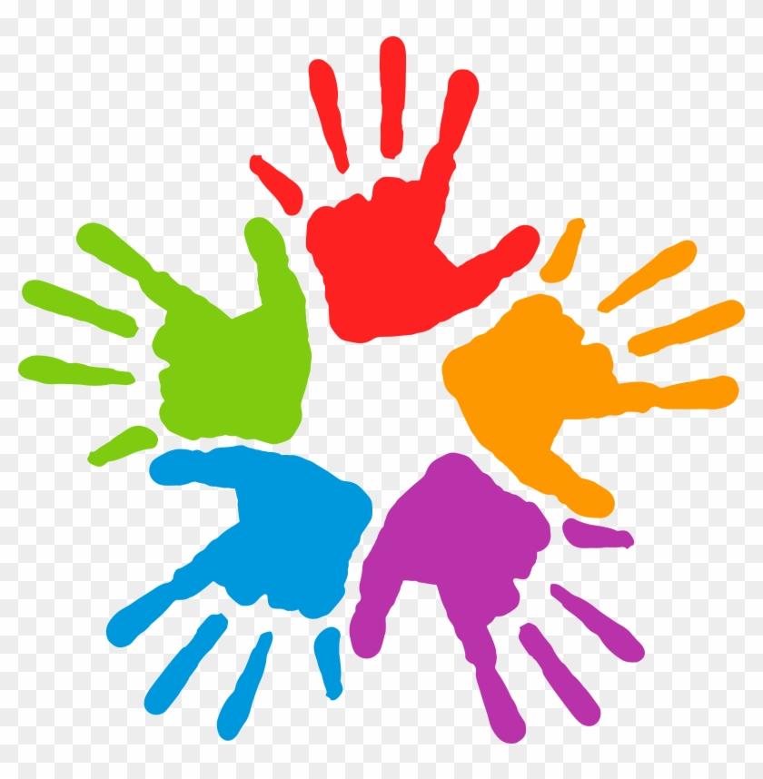 Images Of Preschool - Childrens Hands Clipart #134213