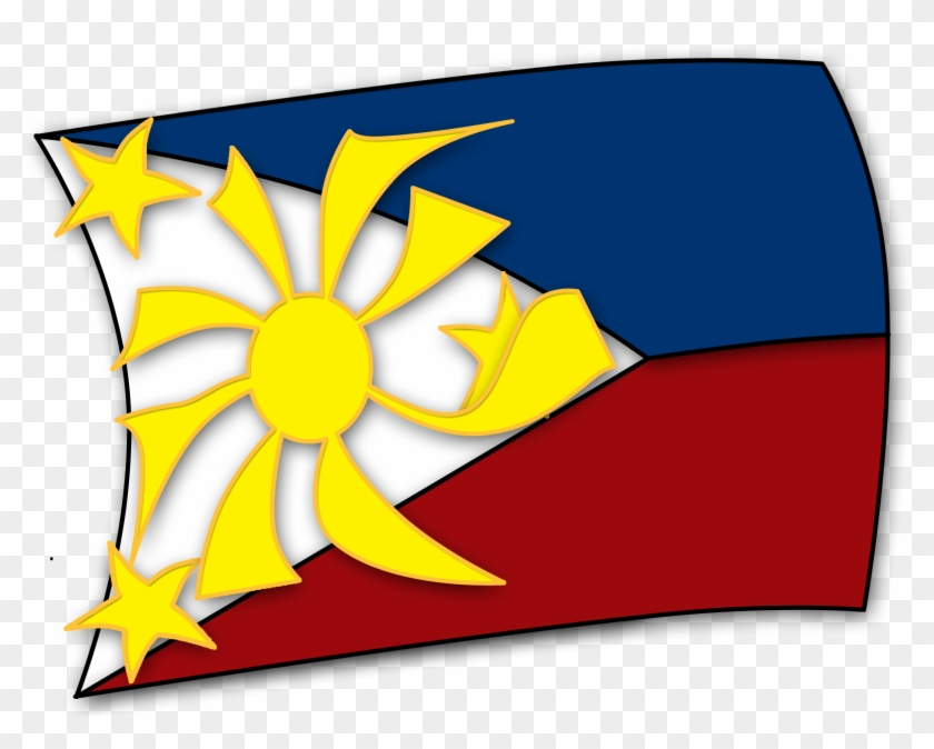 Flag Of The Philippines - Philippine Flag Vector #134303
