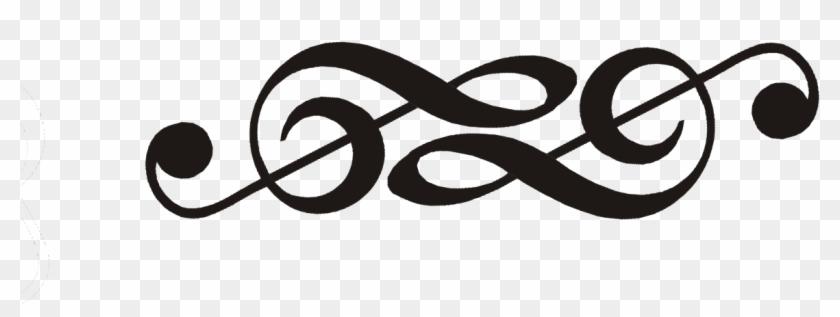 Double Infinity Symbol Clip Art - Treble Clef Infinity Tattoo #134333