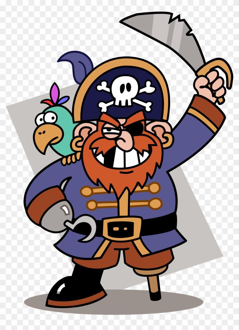 Cartoon Pirate #134433