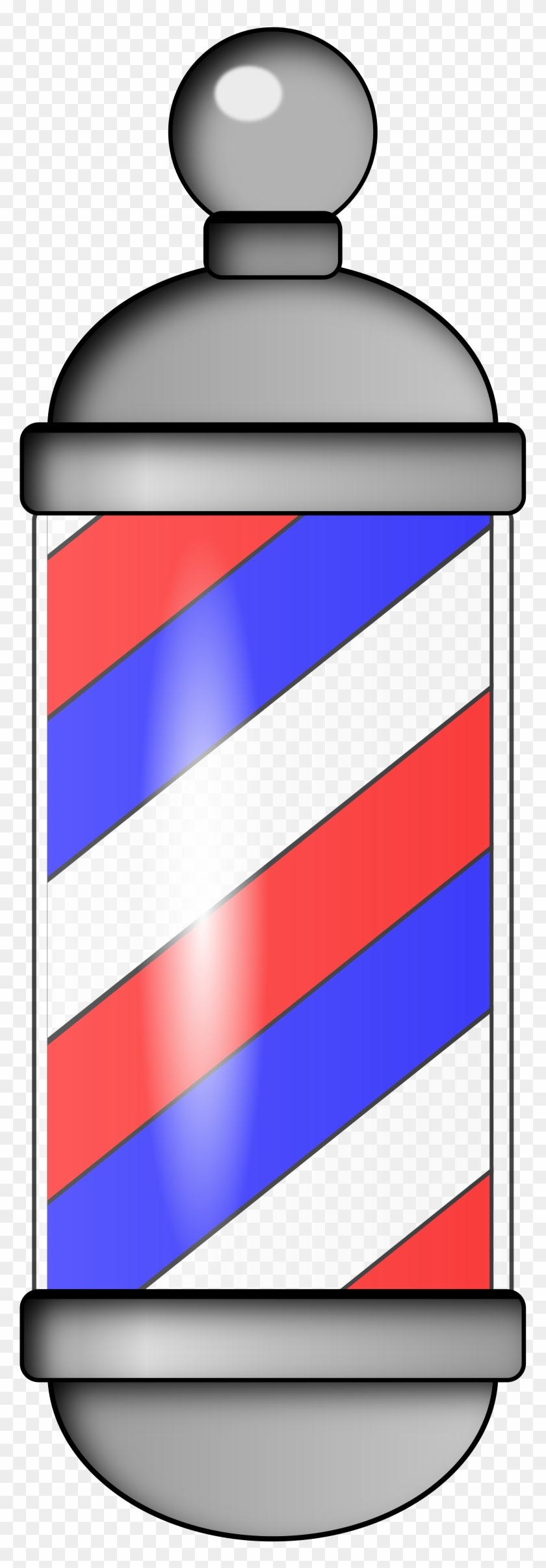 Big Image - Barber Shop Red And White Pole Meaning #134549