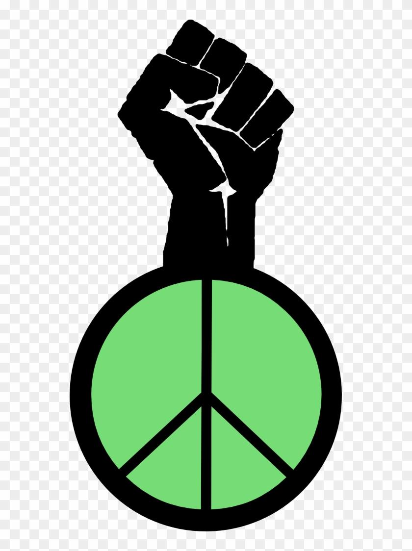 Svg Peacesymbol - Org - Symbols For Cesar Chavez #134795
