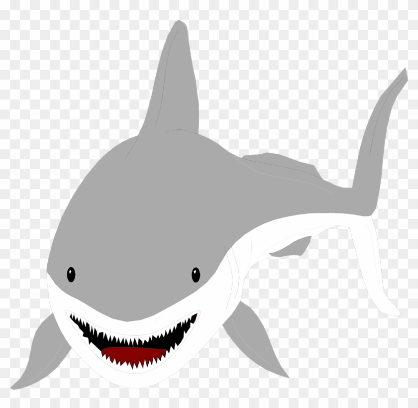 Categories Of Illustration Of A Great White - 3drose Cute Kids Shark Art - Wall Clock, 13 By 13-inch #134799
