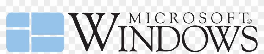 Open - Microsoft Windows 1.0 Logo #134938