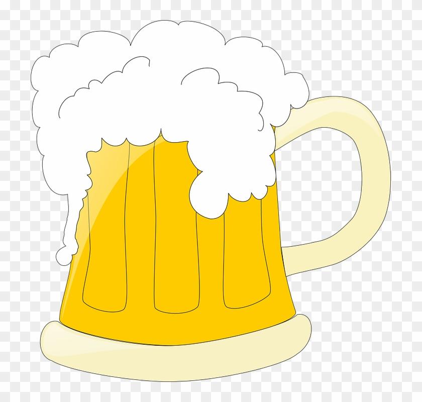 Beer Mug Clip Art - Beer Clipart Black Background #134975