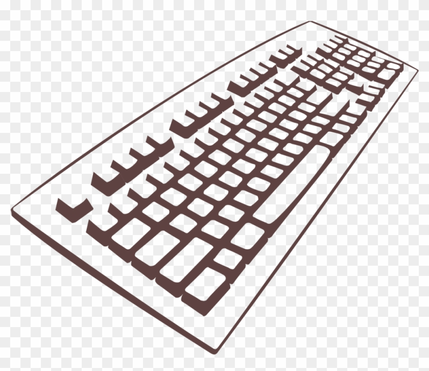 Clip Art Tags - Keyboard Clipart #135107