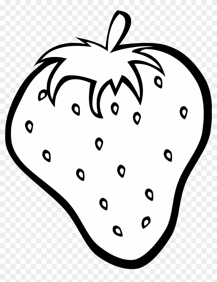 Fruit Drawings - Fruits Clipart Black And White #135113