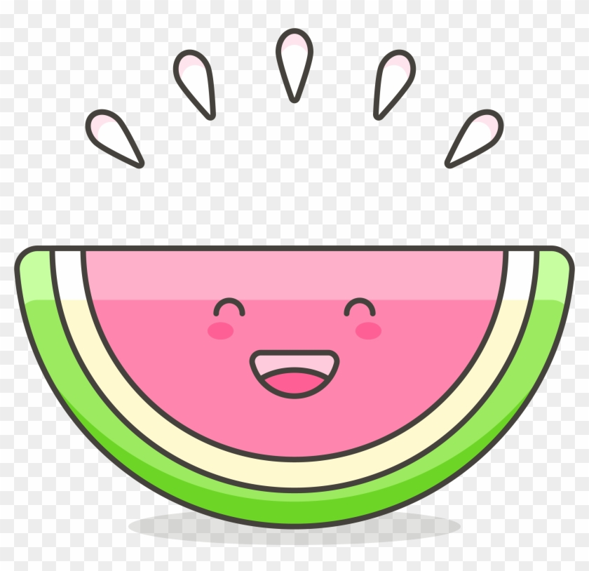 Drawing Watermelon Clip Art - Cute Watermelon Cartoon #135123
