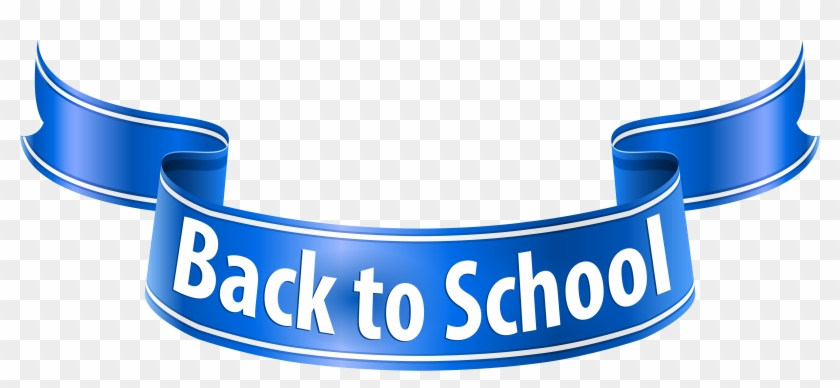 Back To School Banner Png Clip Art Imageu200b Gallery - Blue #135154