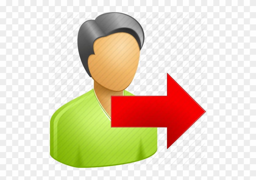 Log Out Icon Clipart - User Logout Icon Png #135300
