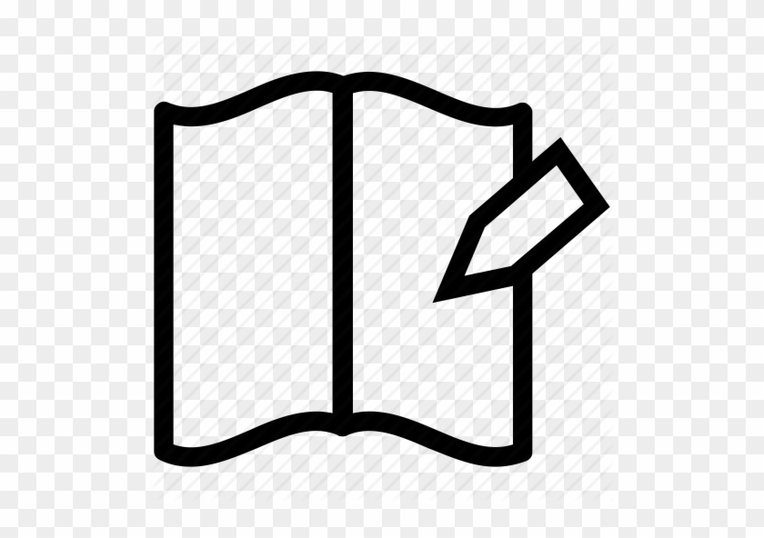 Notebook Clipart Exercise Book - Record Exercise Icon Png #135301