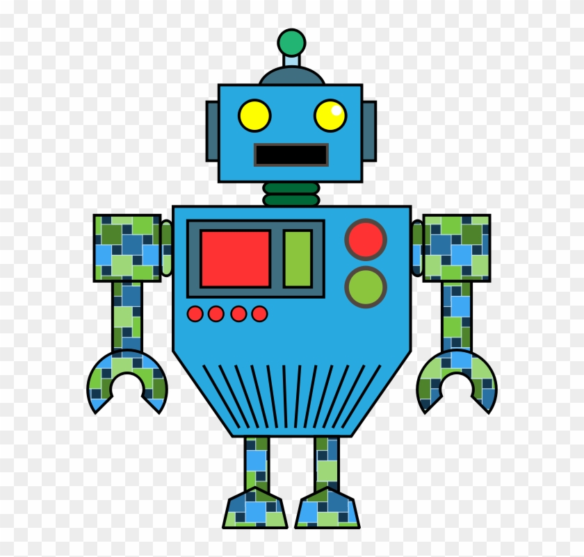 Clipart Info - Robot Clip Art Png #135457