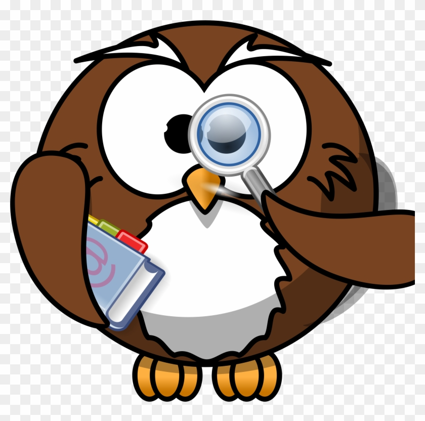 Owl Clipart Intelligent - Cartoon Owl #135461