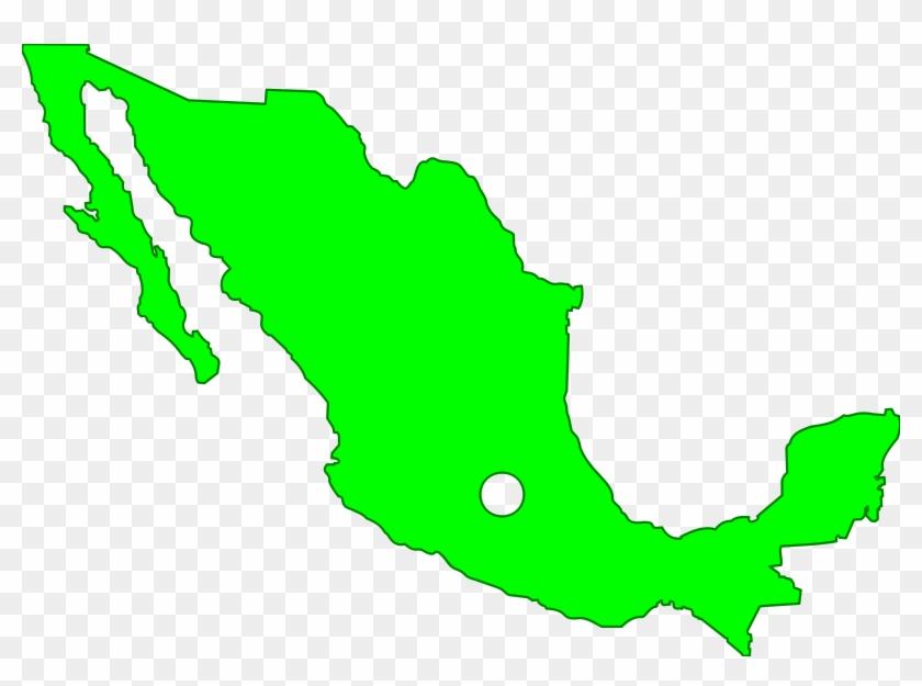 Mexico Clipart Mexico Map Clipart - Mexico Map Clipart #135463