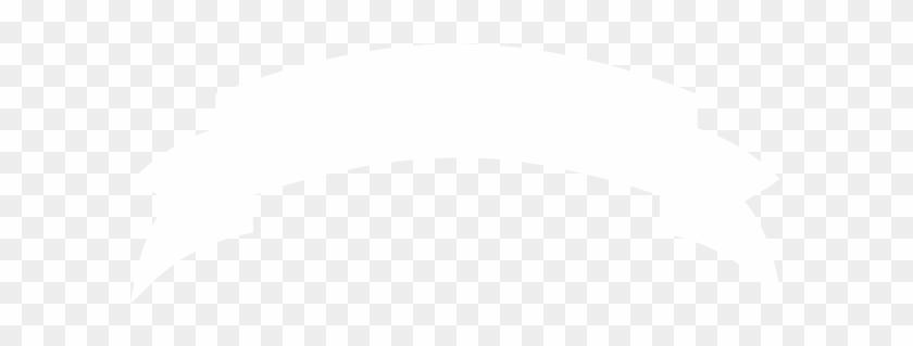 Ribbon Vector Black White Png - White Ribbon Banner Png #135515