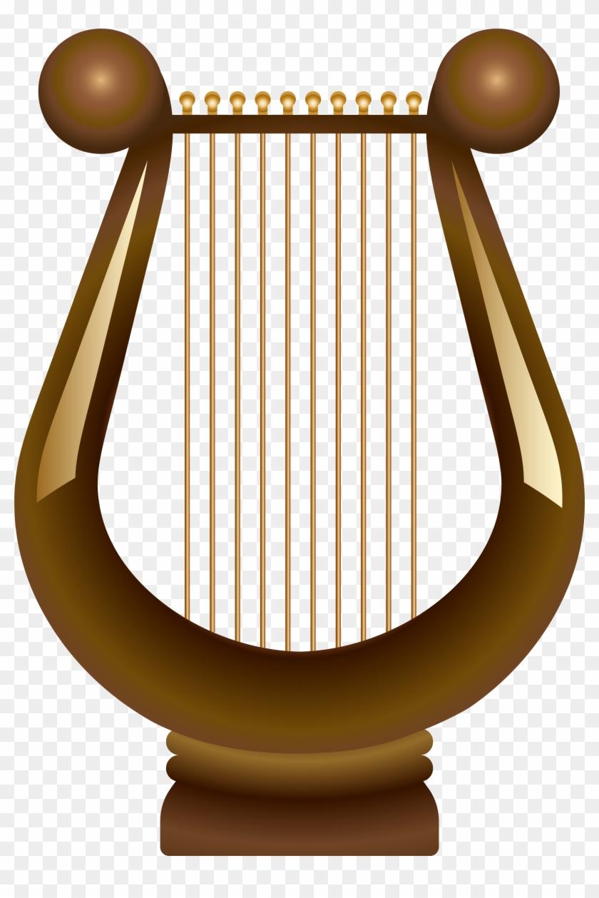 Harp Transparent Png Clip Art - Harp Transparent Png Clip Art #135537