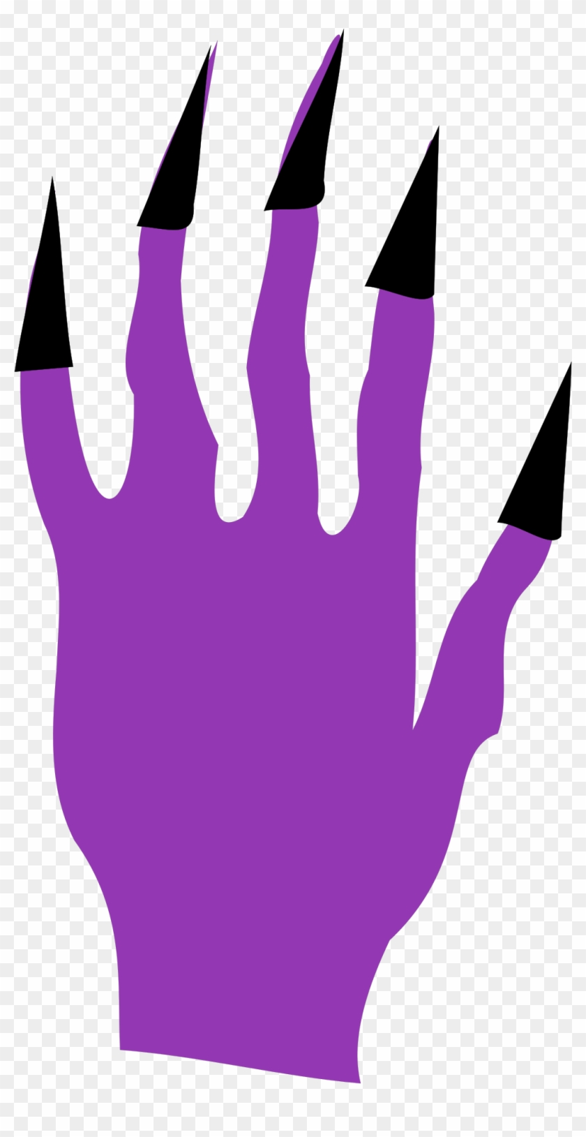 Halloween Nails Png Images - Clip Art Witch Fingers #135622
