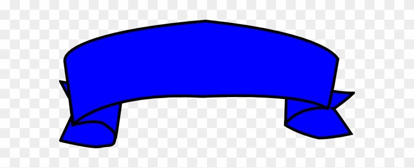 Blue Banner Clip Art At Clker - Blue Banner Clip Art #135634
