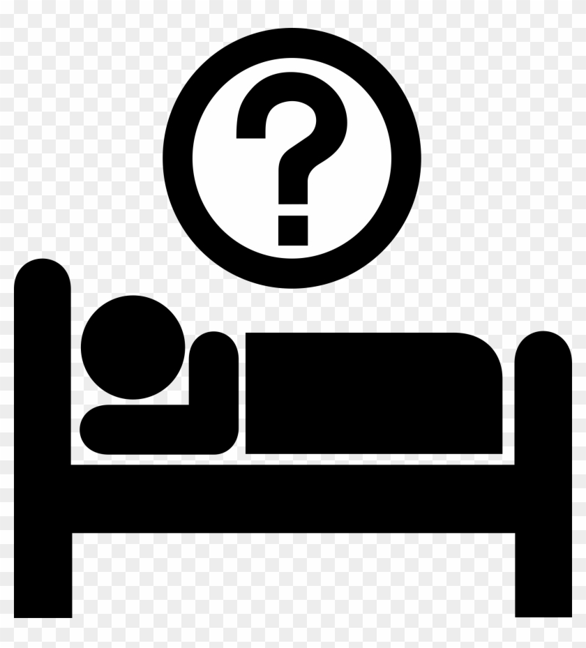 Sign Clipart Hotel - Sleep Icon #135648