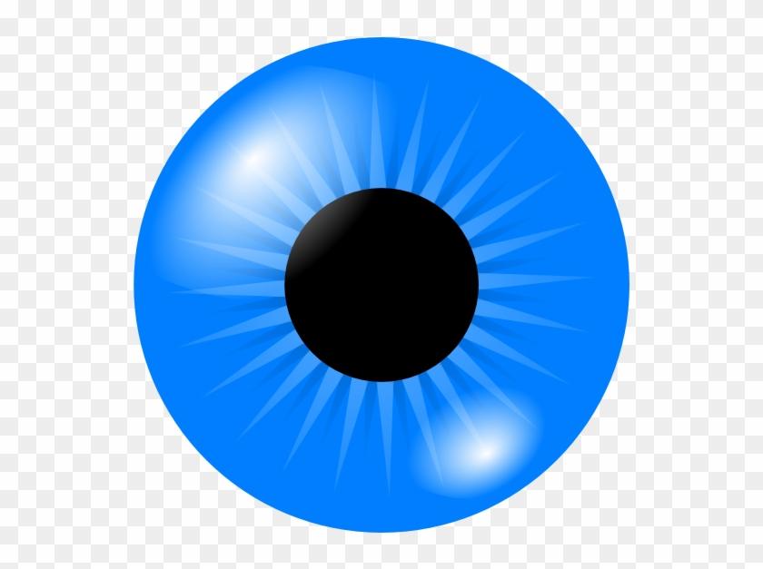 Iris Clip Art - Clip Art Blue Eyes #135740