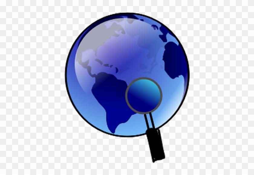 Globe Free Clipart Vectors - Red Globe Clip Art #135918