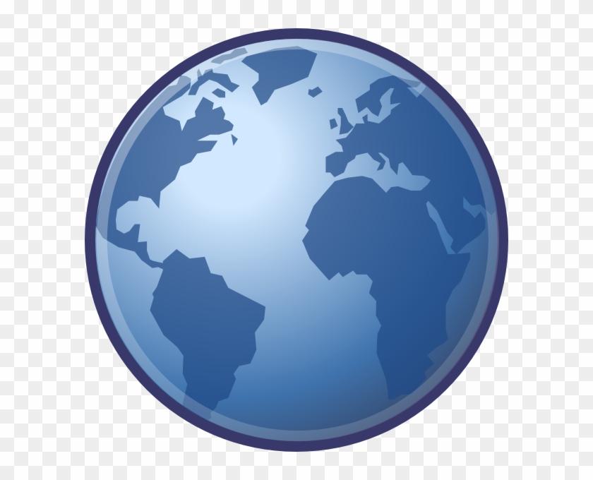 Globe Clip Art At Clkercom Vector Online - Free Globe Clip Art #135920