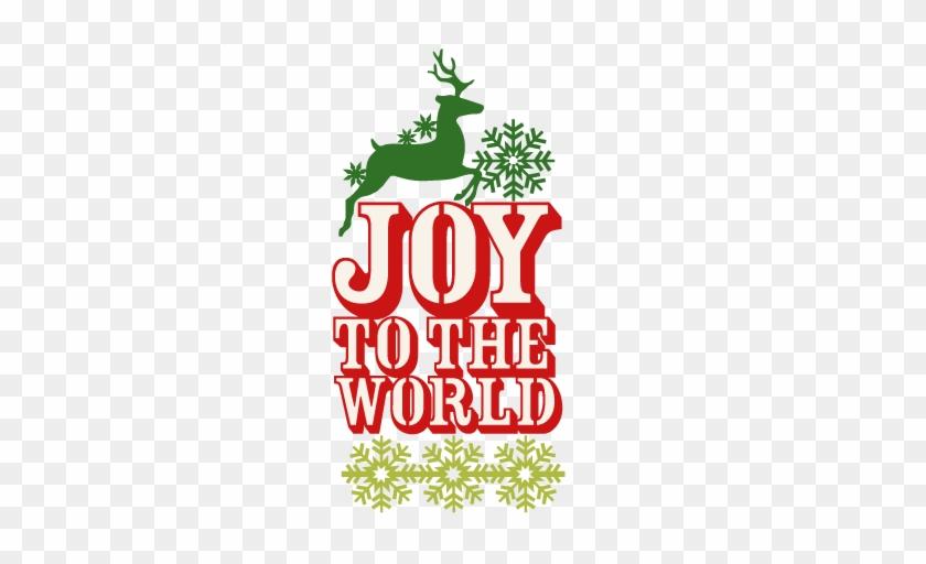 Joy To The World Clipart - Joy To The World Clipart #135924