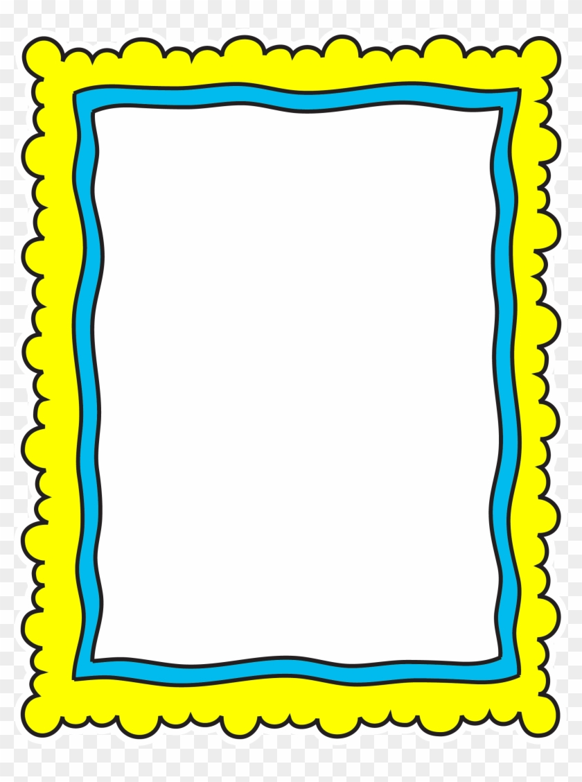 Borders For Kids - Picture Frame - Free Transparent PNG Clipart ...