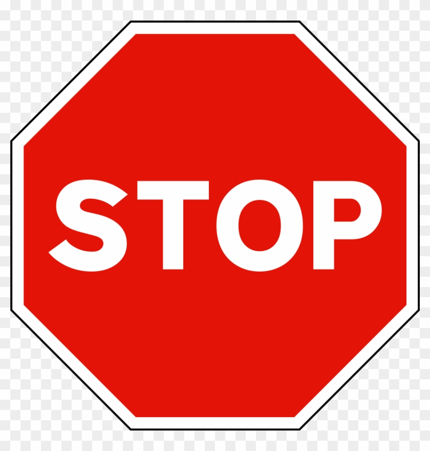 Microsoft Clipart Stop Sign - Sign And Symbol In Road #136106