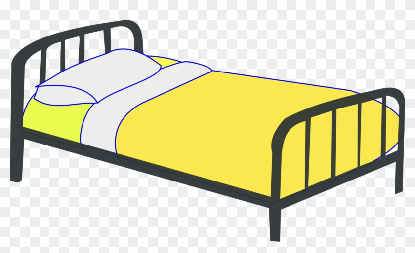 Make Bed Bed Cartoon Clip Art Dromgbg Top - Clipart Lit #136159