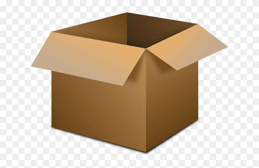 Box Open Cardboard Box Cardboard Container - Open Box Transparent Background #136186