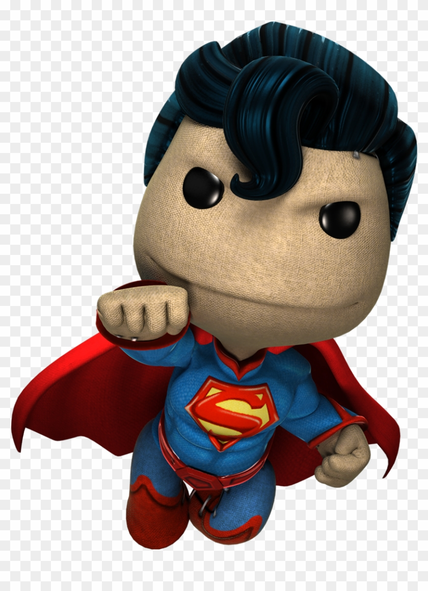Superman Costume - - Little Big Planet Costume #136365