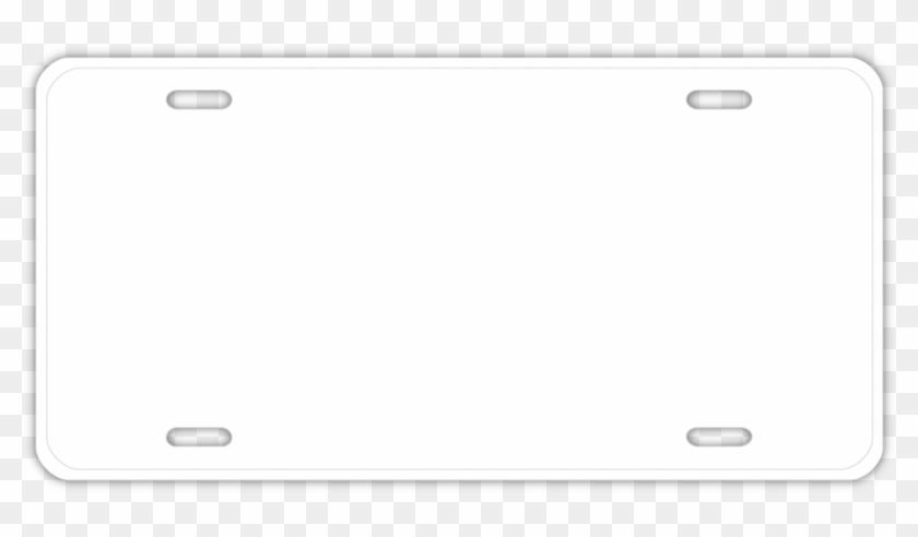License Plate Clipart - Smartphone #136425