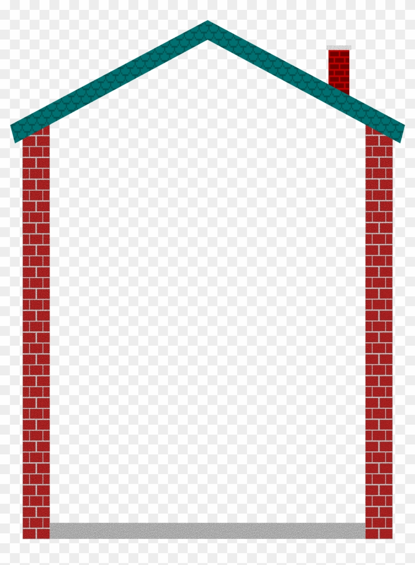 House Frame Clipart Png - House Frame Clipart #136430