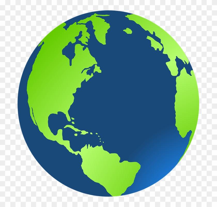 Close - Planet Earth Clipart #136438