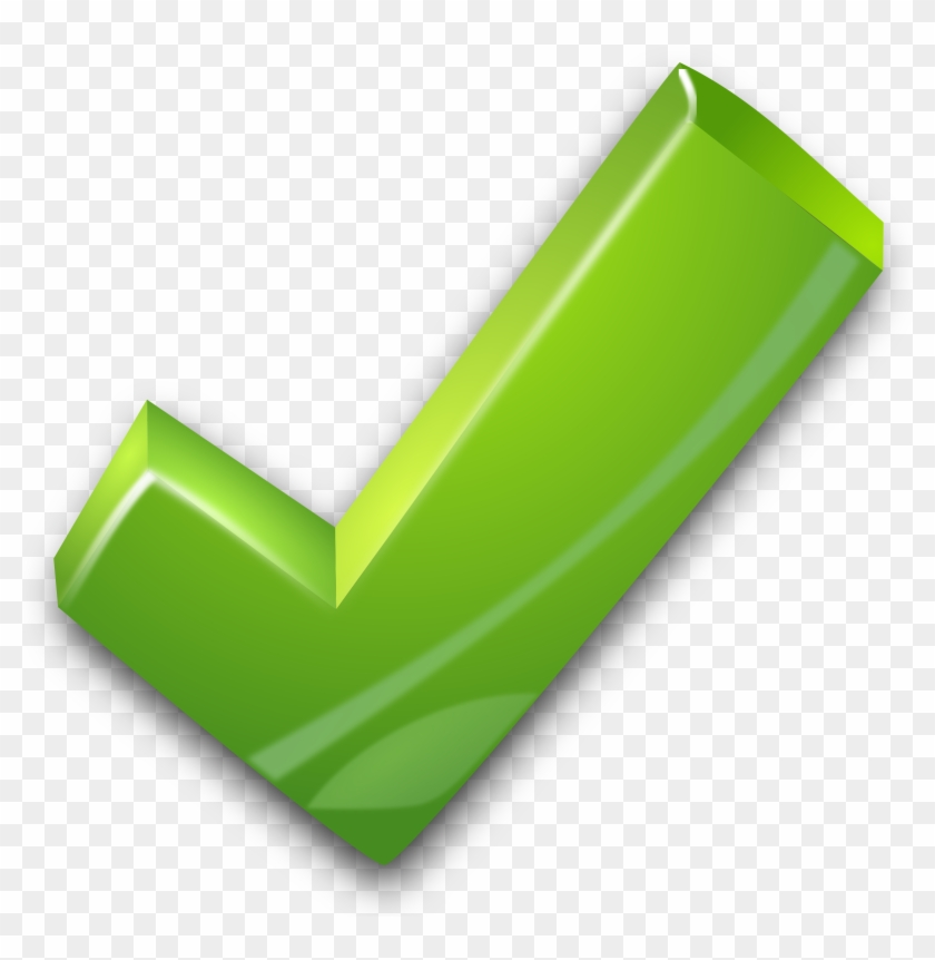 Clipart - Green Tick #136459