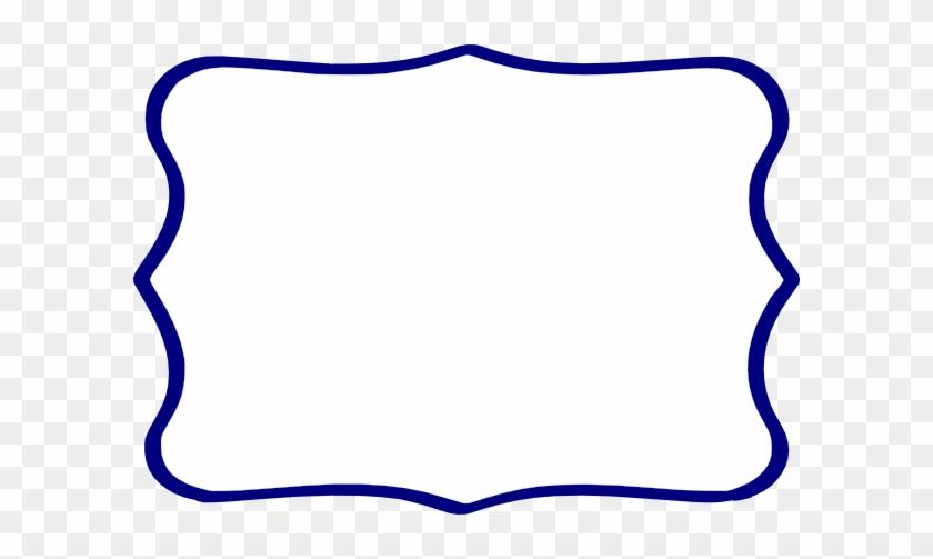 Frame Clipart Navy Blue - Frame Azul Escuro Png #136469