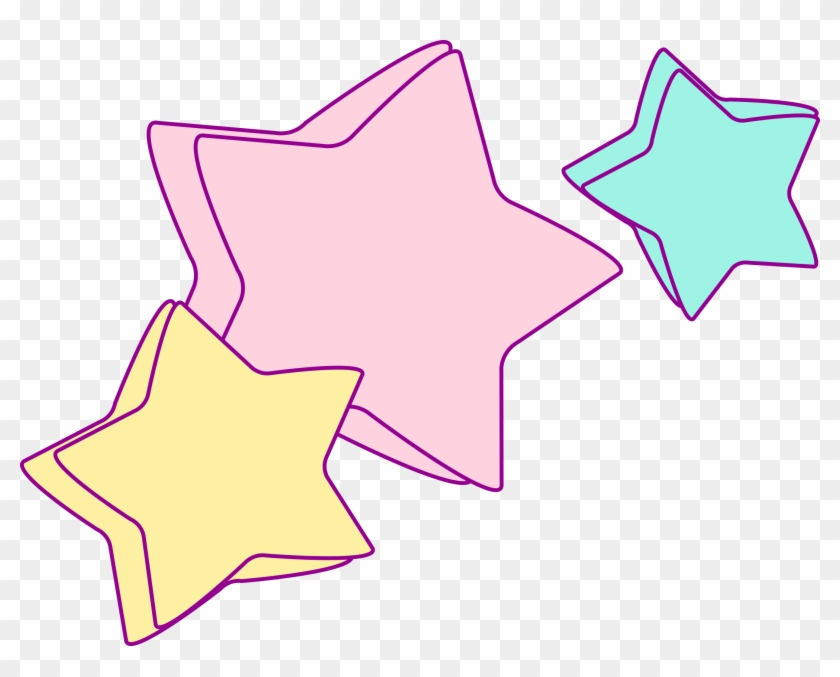 1 - Unicorn Star Clipart #136566