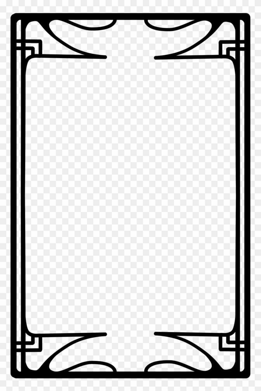Images For Art Deco Png - Tarot Card Frame - Free Transparent PNG ...