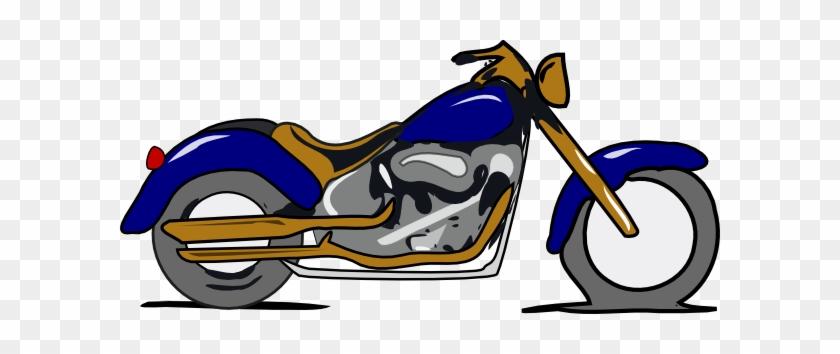 Harley Davidson Clip Art - Motorsykkel Clipart #136735