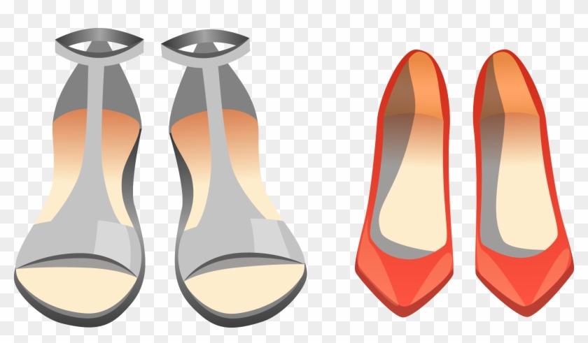 Shoe Slipper Sandal Clip Art - Shoe Slipper Sandal Clip Art #136818
