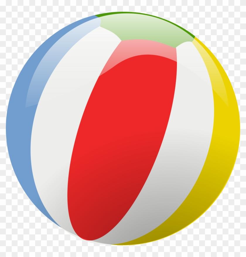 Beach Ball Vector - Beach Ball Transparent Background #136876