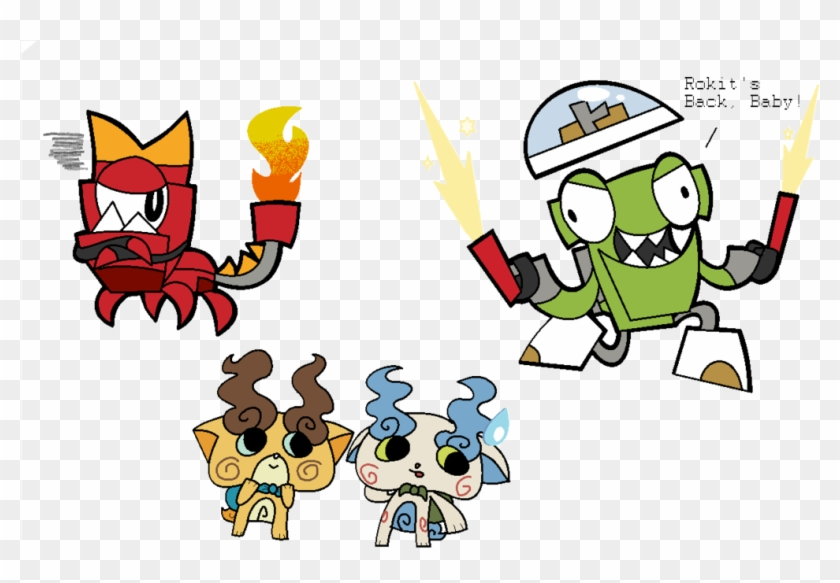 Ms Paint Time By Supercoco142 - Mixels Yo Kai Watch Medals #136924