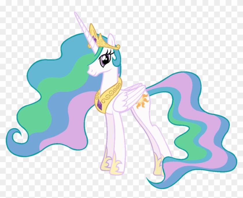 Princess Celestia By J-pinkie - Princess Celestia Ms Paint #136944