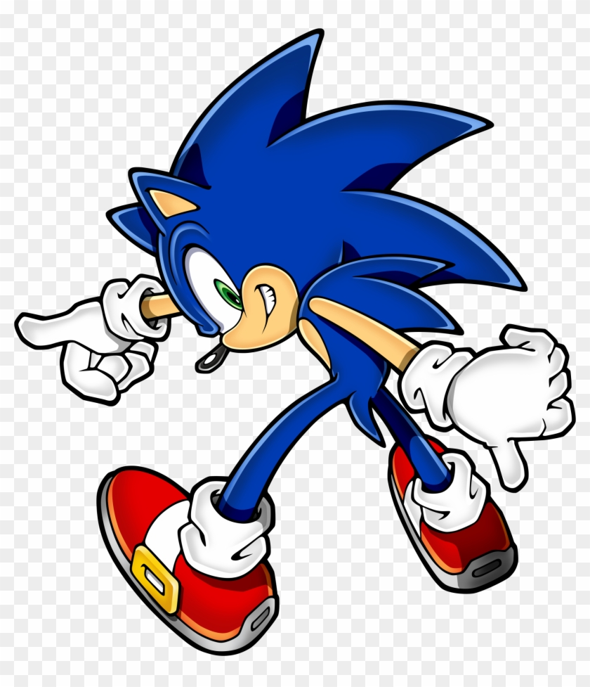 Sonic The Hedgehog Clipart Asset - Super Sonic The Hedgehog #136985