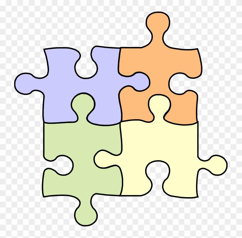 Puzzle Pieces - Puzzle Pieces Clip Art #137016