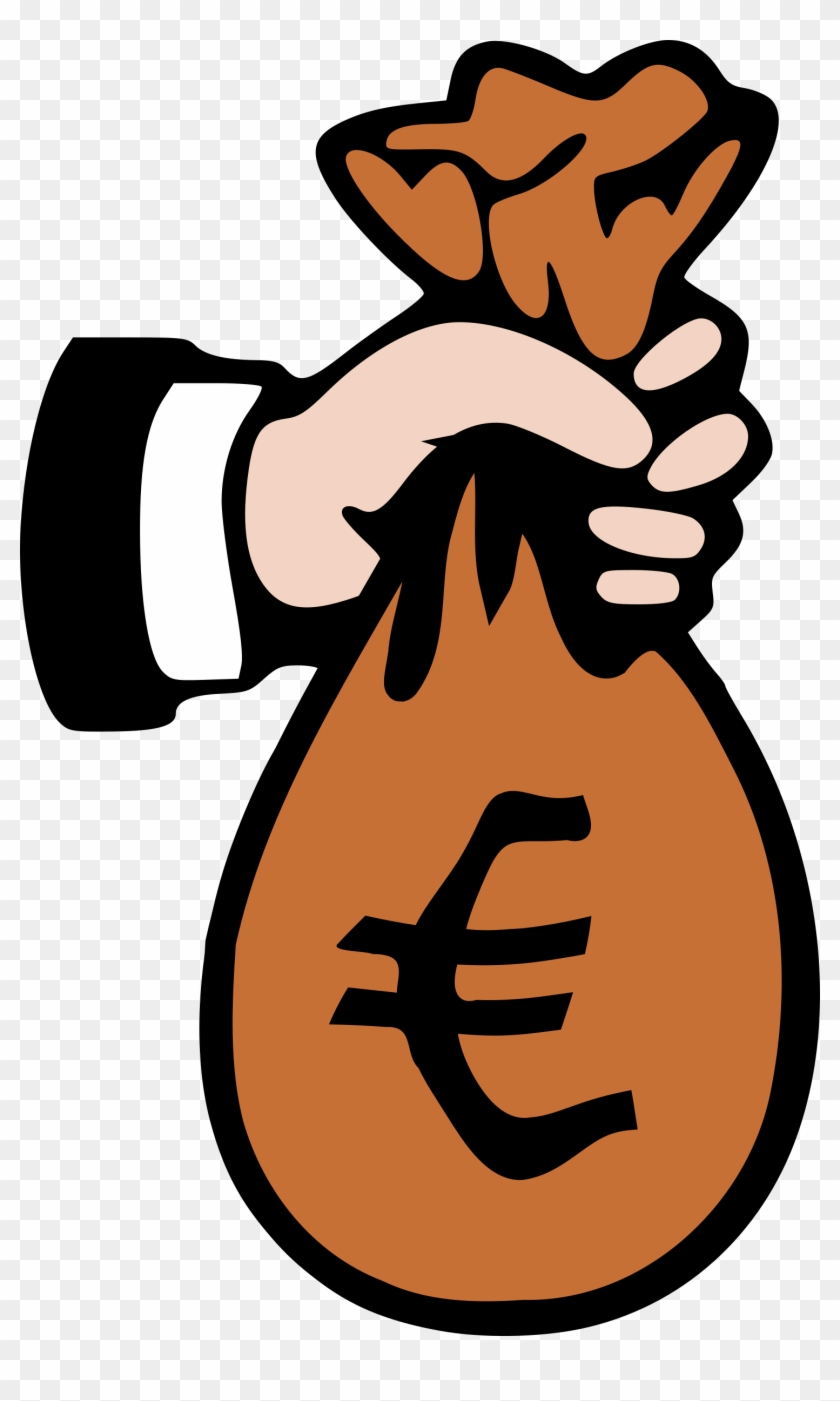Sac Euro Clipart - Payment Clipart #137196